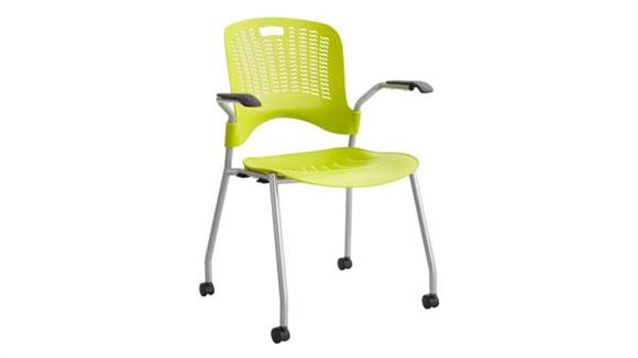 Office Chairs Safco Office Furniture Sassy® Stack Chair (Qty. 2)