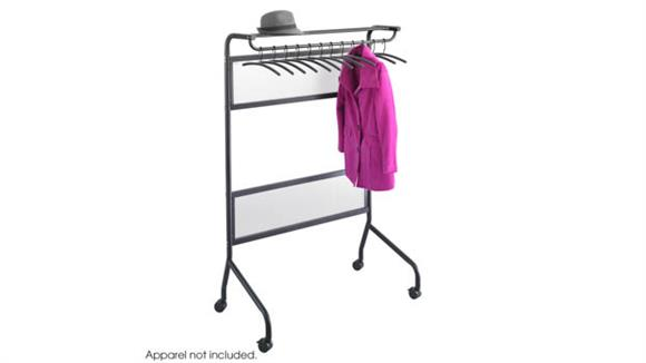 Coat Racks Safco Office Furniture Mobile Garment Rack