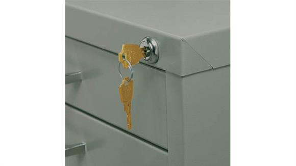 Flat File Cabinets Safco Office Furniture Lock Kit for 10-Drawer File