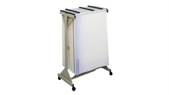 Mobile File Cabinets Safco Office Furniture Mobile Plan Center