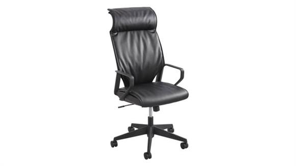 Office Chairs Safco Office Furniture Priya™ Leather High Back Executive Chair
