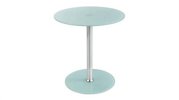 Accent Tables Safco Office Furniture Glass Accent Table