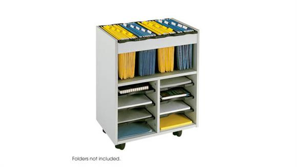 Mobile File Cabinets Safco Office Furniture Go Cart™ Mobile Cart