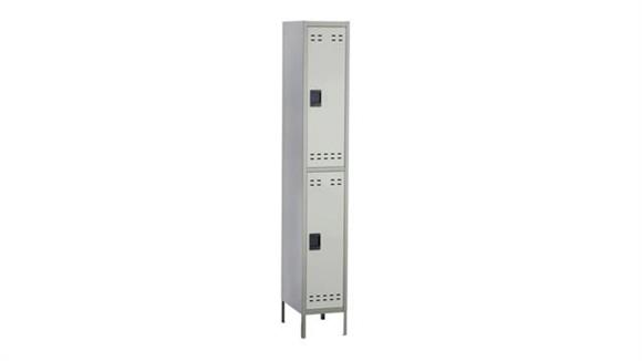Lockers Safco Office Furniture Double Tier Locker