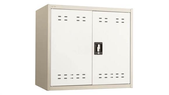 "Storage Cabinets Safco Office Furniture 27""H Steel Storage Cabinet"