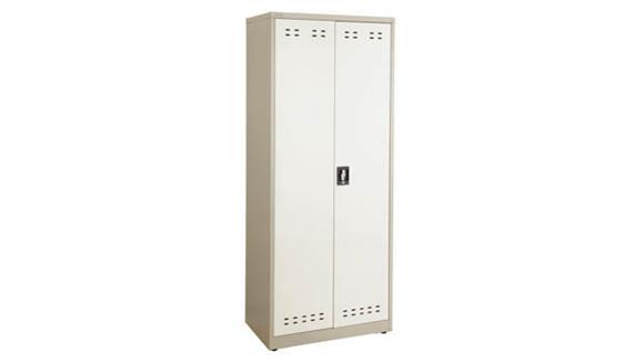 "Storage Cabinets Safco Office Furniture 72""H Steel Storage Cabinet"