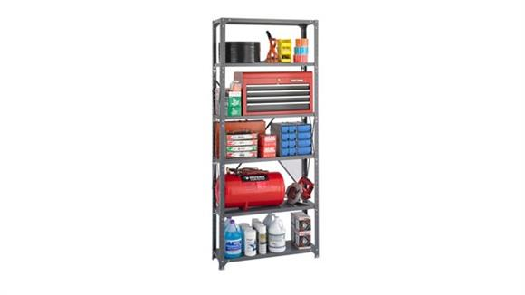 """Shelving Safco Office Furniture 36""""W x 12""""D x 85""""H Industrial Steel Shelving"""