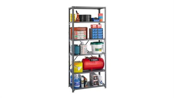 """Shelving Safco Office Furniture 36""""W x 18""""D x 85""""H Industrial Steel Shelving"""