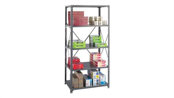 "Shelving Safco Office Furniture 36""W x 24""D x 75""H Commercial 5 Shelf Unit"
