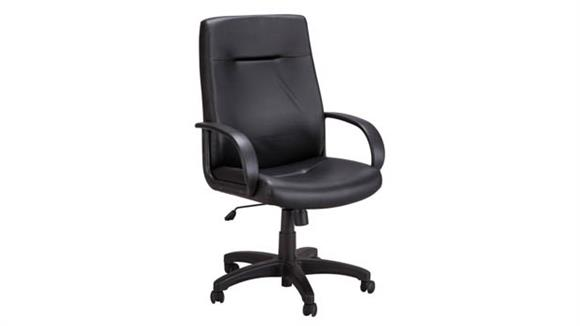 Office Chairs Safco Office Furniture Poise® Executive High Back Seating