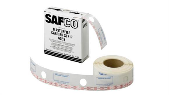 "Office Organizers Safco Office Furniture 2-1/4""W Polyester Carrier Strips for MasterFile 2"