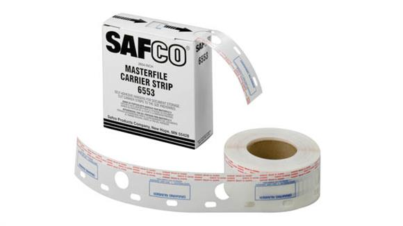 "Office Organizers Safco Office Furniture 2-1/2""W Polyester Carrier Strips for MasterFile 2"