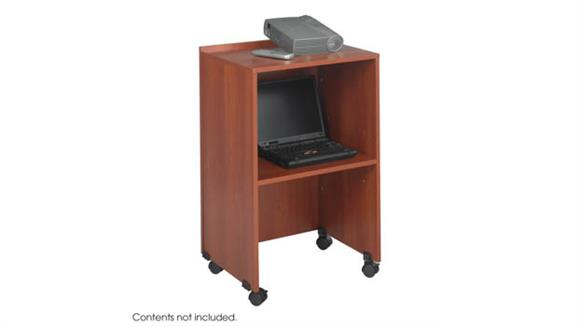 AV Carts Safco Office Furniture Lectern Base/Media Cart