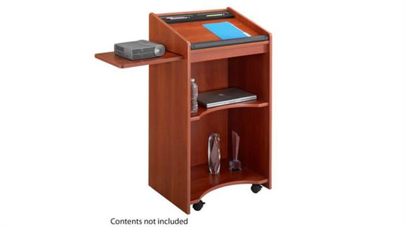 Podiums & Lecterns Safco Office Furniture Executive Mobile Lectern