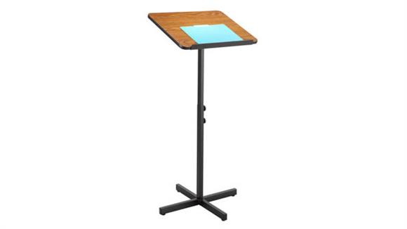 Podiums & Lecterns Safco Office Furniture Adjustable Speaker Stand