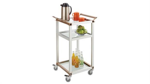 Hospitality Carts Safco Office Furniture Small Refreshment Cart
