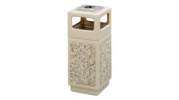 Waste Baskets Safco Office Furniture Canmeleon™ Aggregate Panel, Ash Urn/Side Open, 15 Gallon