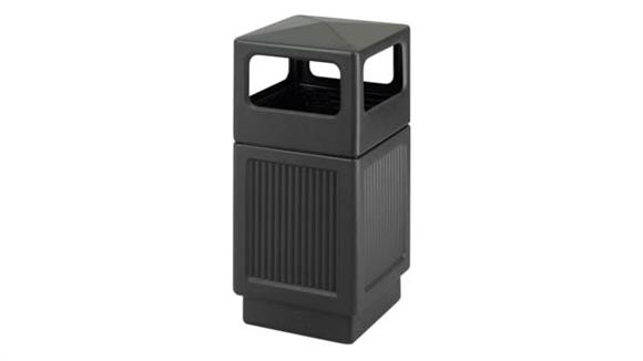 Waste Baskets Safco Office Furniture 38 Gallon Waste Receptacle
