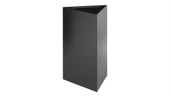 "Waste Baskets Safco Office Furniture 30""H Recycling Base"