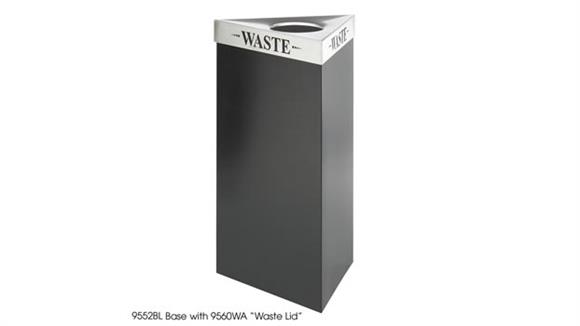 Waste Baskets Safco Office Furniture 19 Gallon Waste Receptacle