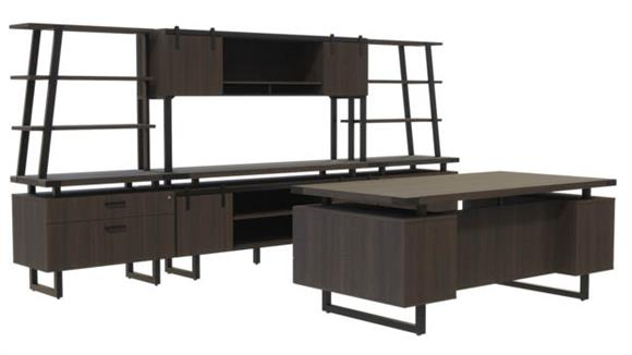 Computer Desks Safco Office Furniture Typicals Desk Set