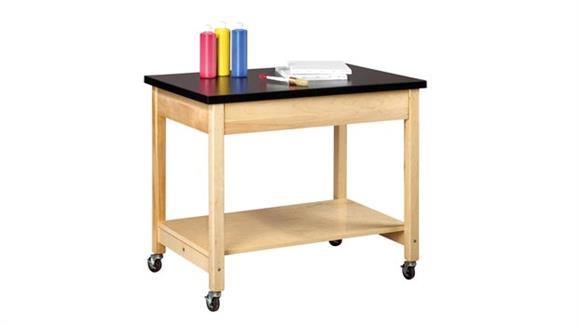 Science & Lab Tables Shain Solutions Mobile Demonstration Table