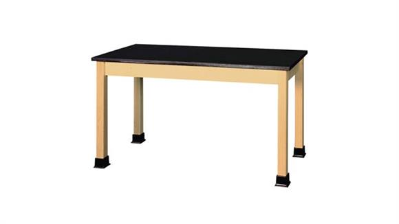 "Science & Lab Tables Shain Solutions 48"" x 24"" Lab Table with Laminate Top"