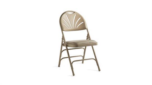 Folding Chairs Samsonite Fanback Steel & Vinyl Folding Chair