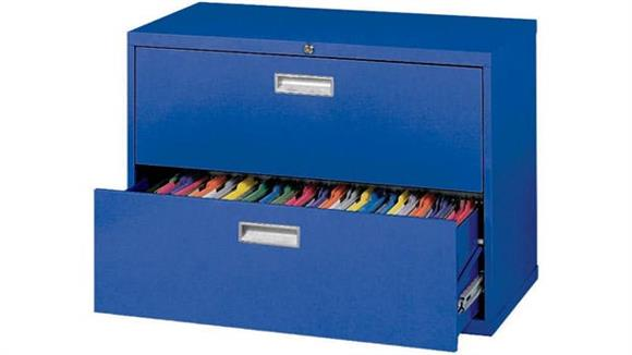 "File Cabinets Lateral Sandusky Lee 36""W  2 Drawer Lateral File"