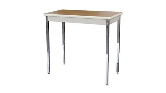 "Activity Tables Sandusky Lee 40"" x 20"" Adjustable Height Activity Table"