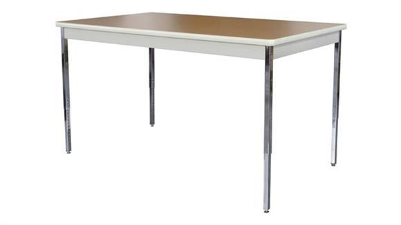 "Activity Tables Sandusky Lee 60"" x 20"" Adjustable Height Activity Table"
