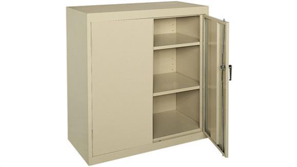 "Storage Cabinets Sandusky Lee 36"" W x 18"" D x 42""H  Storage Cabinet"