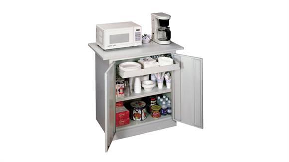 "Storage Cabinets Sandusky Lee 36""W x 24""D x 34""H  Refreshment Center"