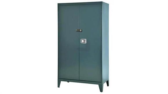 """Storage Cabinets Sandusky Lee 46""""W x 18""""D x 72""""H  Extra Heavy Duty Storage Cabinet"""