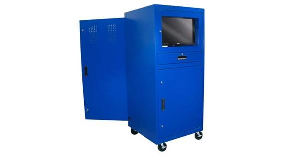 Computer Carts Sandusky Lee Mobile Computer Cabinet
