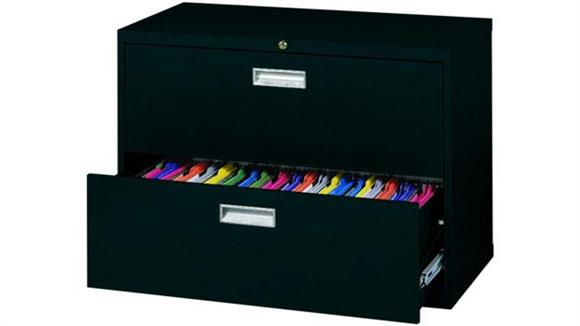 """File Cabinets Lateral Sandusky Lee 36""""W  2 Drawer Lateral File"""