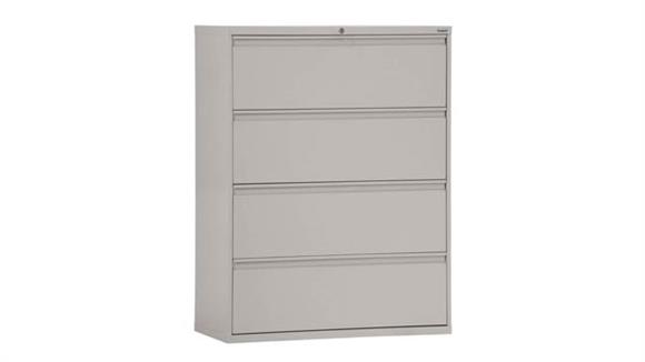 "File Cabinets Lateral Sandusky Lee 30""W 4 Drawer Lateral File"