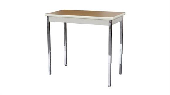 "Activity Tables Sandusky Lee 40"" x 20"" Adjustable Height Activity Table"