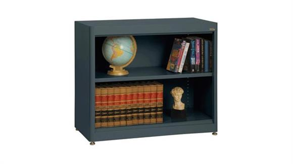 "Bookcases Sandusky Lee 36""W x 18""D x 30""H  Radius Edge Bookcase"