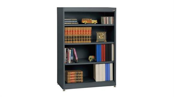 "Bookcases Sandusky Lee 36""W x 18""D x 52""H  Radius Edge Bookcase"