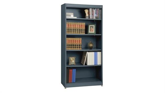 "Bookcases Sandusky Lee 36""W x 18""D x 72""H  Radius Edge Bookcase"