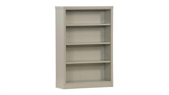 "Bookcases Sandusky Lee 35""W x 13""D x 52""H  Snap It Bookcase"