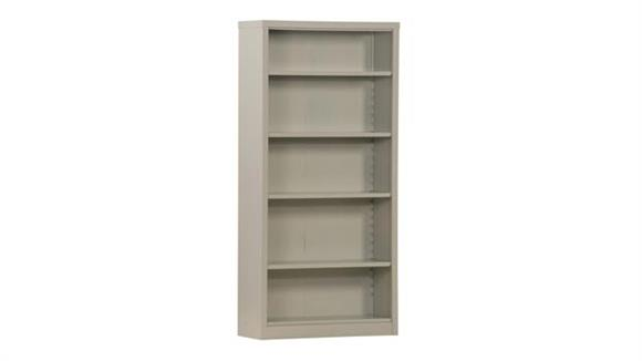 "Bookcases Sandusky Lee 35""W x 13""D x 72""H  Snap It Bookcase"