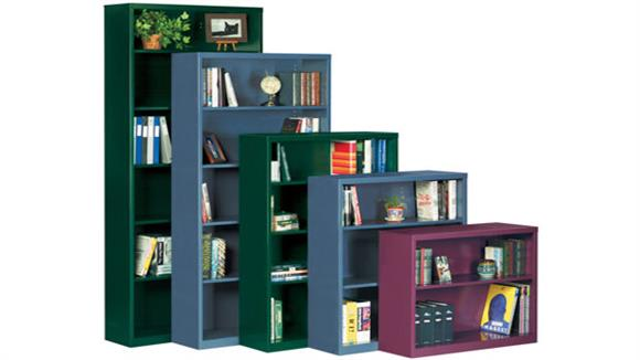 "Bookcases Sandusky Lee 34.5""W x 13""D x 30""H Steel Bookcase"