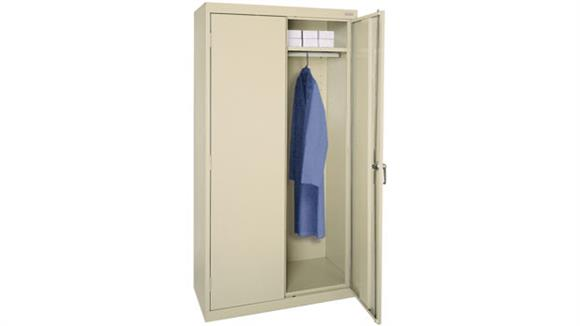"Wardrobe Armoires Sandusky Lee 36""W x 24""D x 72""H  Wardrobe Cabinet"