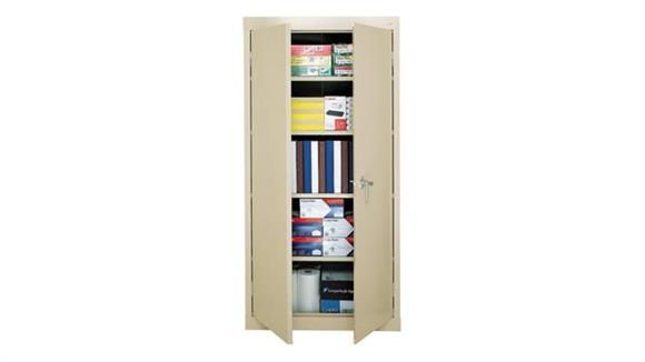 "Storage Cabinets Sandusky Lee 36""W x 18""D x 72""H  Snap It Storage Cabinet"