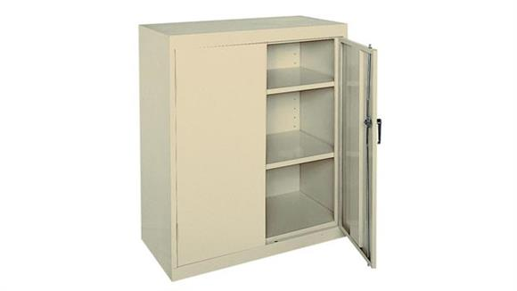 "Storage Cabinets Sandusky Lee 36""W x 18""D x 42""H  Snap It Storage Cabinet"