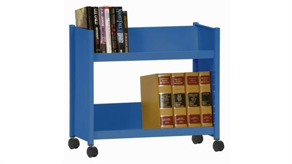Book & Library Carts Sandusky Lee Sloped Shelf Booktruck