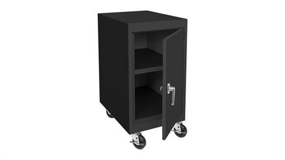 "Storage Cabinets Sandusky Lee 18""W x 24""D x 36""H Transport Mobile Storage Cabinet"