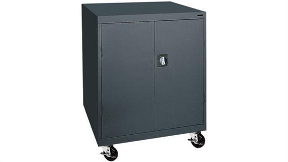 "Storage Cabinets Sandusky Lee 46""W x 24""D x 48""H Mobile Storage Cabinet"